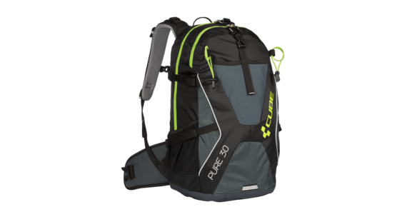 Cube Pure 30 Rucksack black'n'green